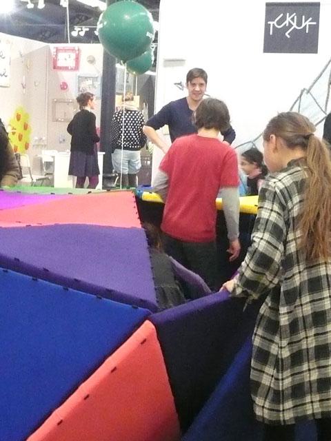 Tukluk au playtime paris for Salon playtime paris