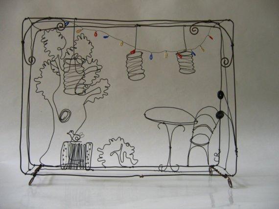 fil de fer plumetis magazine. Black Bedroom Furniture Sets. Home Design Ideas