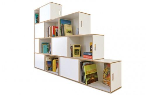 les tag res brickbox pour fly. Black Bedroom Furniture Sets. Home Design Ideas