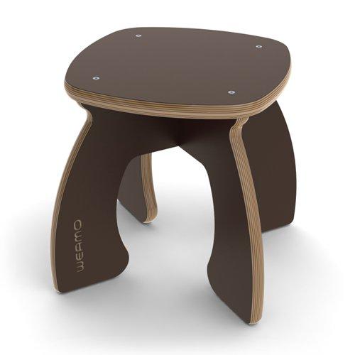 tabouret contemporain pour enfants en formica. Black Bedroom Furniture Sets. Home Design Ideas