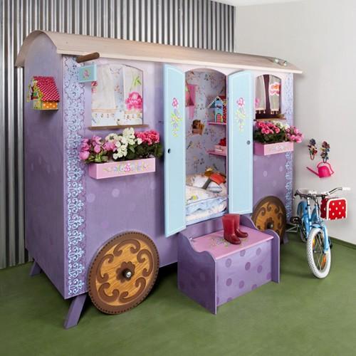 Chambre d 39 enfant dormir dans une roulotte for Chambre d enfant original