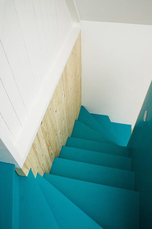Summerhouse Skåne modern staircase
