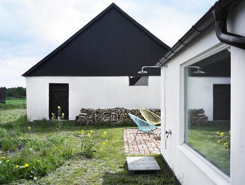 Summerhouse Skåne modern exterior
