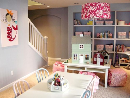 free playroom traditional kids with salle de jeux deco