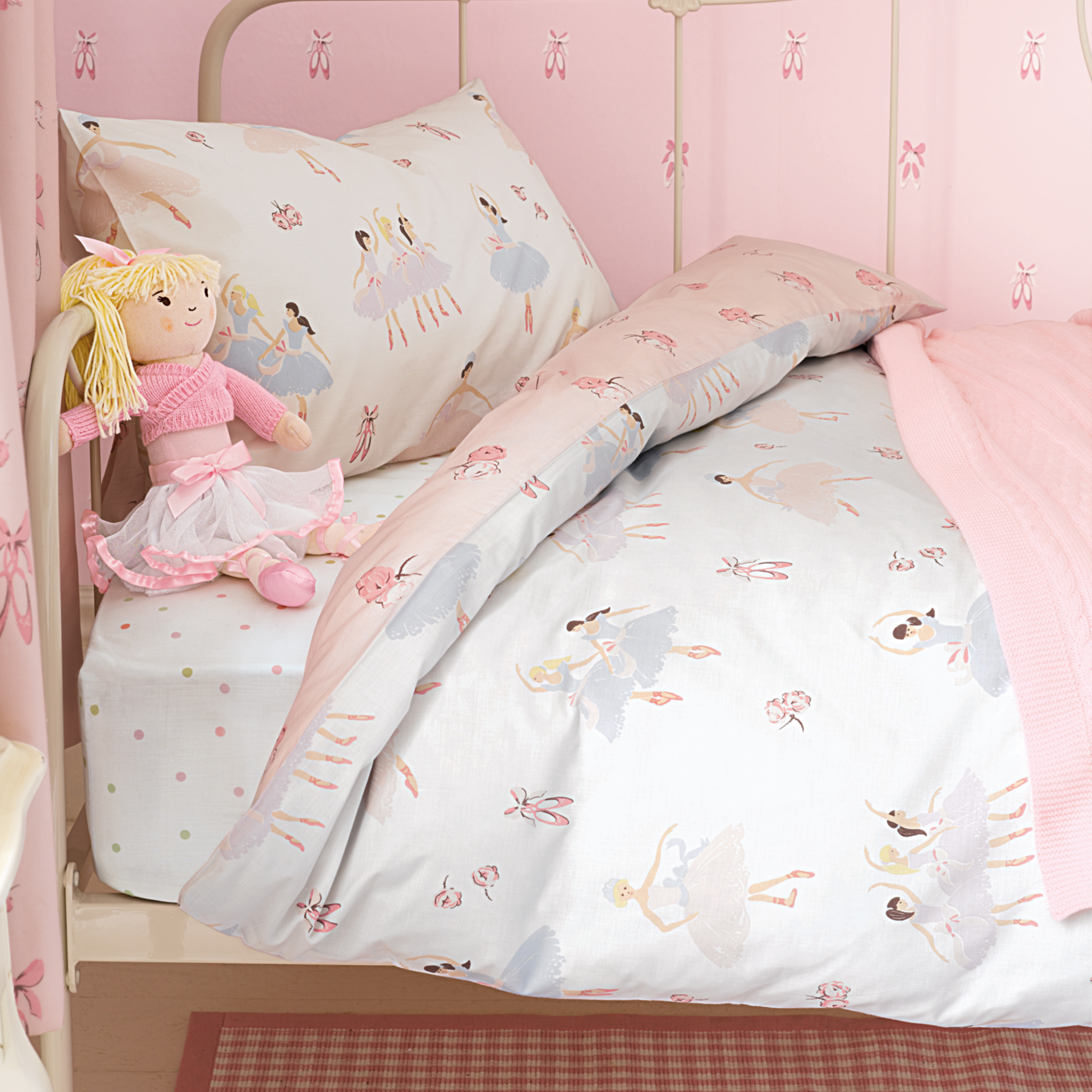 Si j 39 tais ballerine for Housse de couette laura ashley