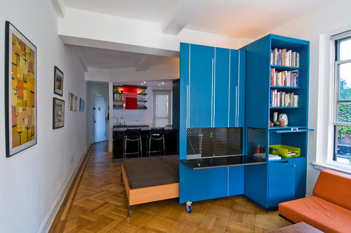 Unfolding Apartment modern bedroom