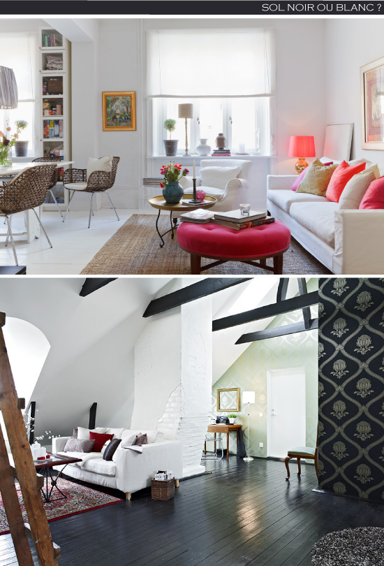 peindre son plancher. Black Bedroom Furniture Sets. Home Design Ideas