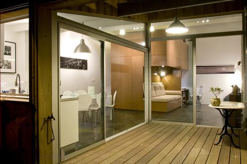 Passage Buhan modern patio