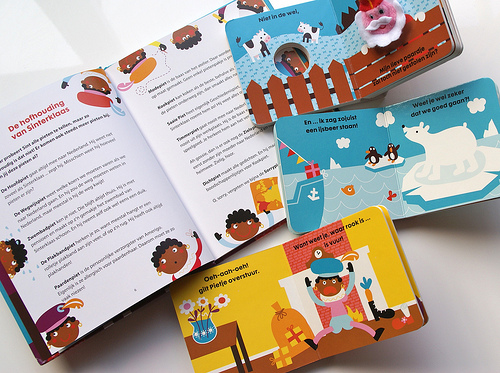 Sinterklaas books for Hema - spreads
