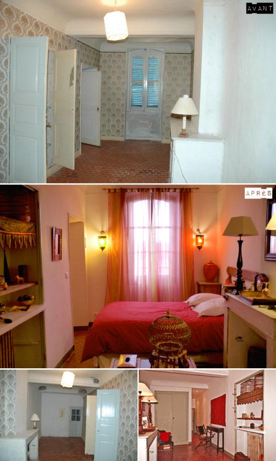 Avant apr s les chambres d 39 h tes de la villa de lorgues - Chambres d hotes la villa alienor ...