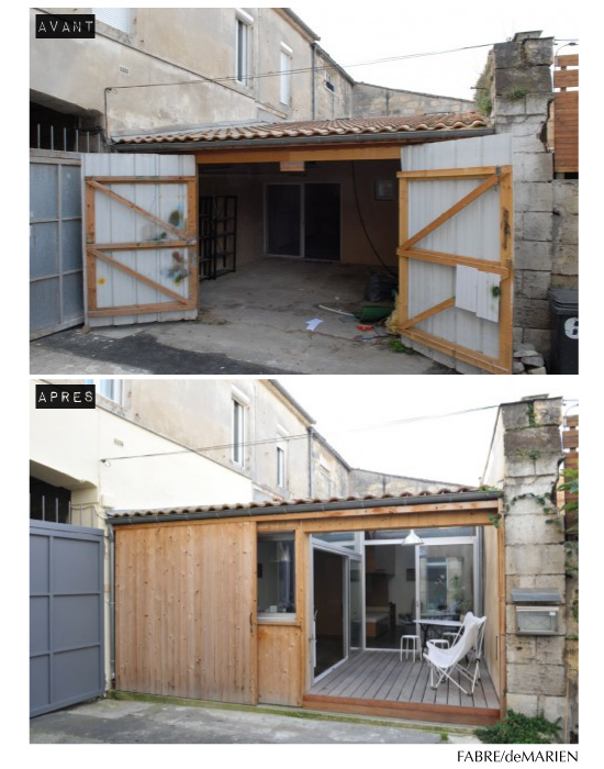 La reconversion d 39 un garage en habitation for Transformer garage en chambre cout