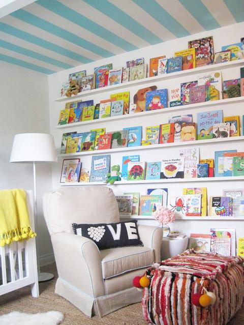 Aménager un coin lecture pour enfants
