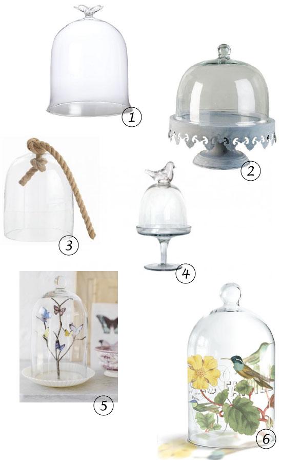 Inspiration avec des cloches plumetis magazine - Cloche de jardin en verre ...