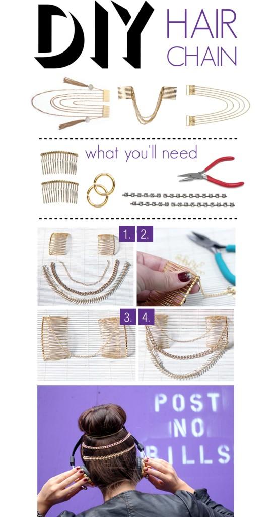 DIY: Hair Chain