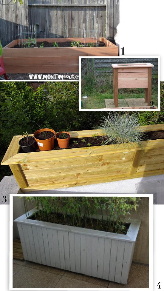 tutos de jardini re en bois. Black Bedroom Furniture Sets. Home Design Ideas