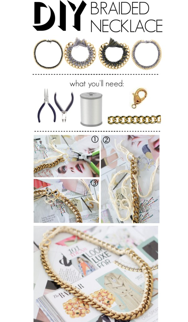 Do It Yourself: Braided Necklace