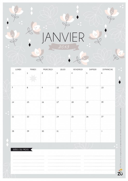 Les Petits Papiers Calendriers 2013 A Telecharger Gratuitement on Weather Seasons