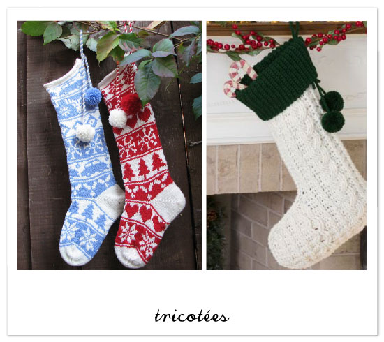 chaussettes-christmas-tricot