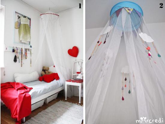 des id es de ciels de lit pour lit d 39 enfant. Black Bedroom Furniture Sets. Home Design Ideas