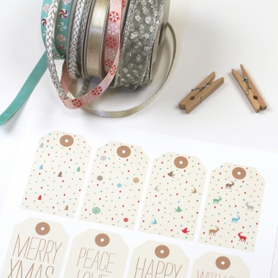 Holiday Gift Tags - LOVE VS DESIGN