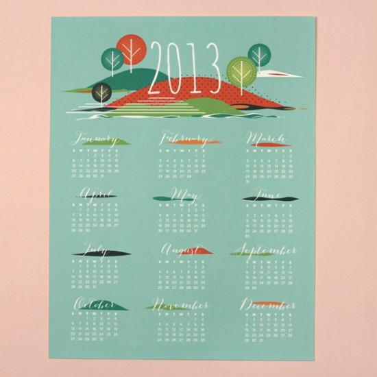 Seasons 2013 Calendar - LOVE VS DESIGN