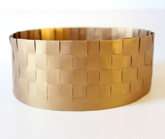King David Gold Paper Crown