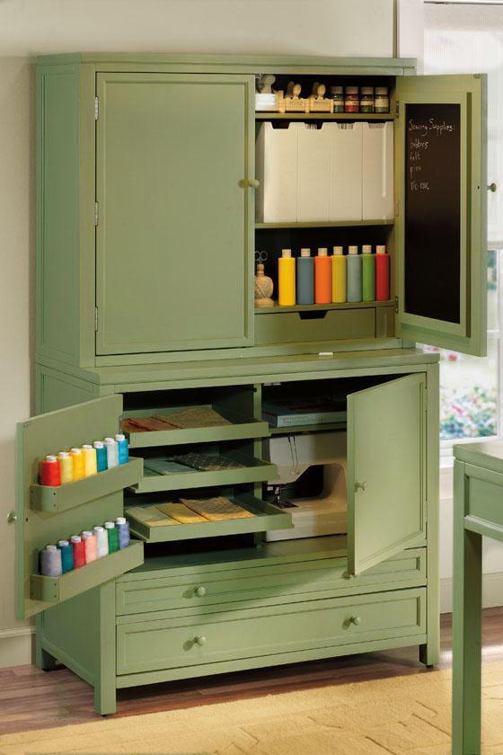 Martha Stewart Living™ Craft Space Storage Cabinet sur Home decorators