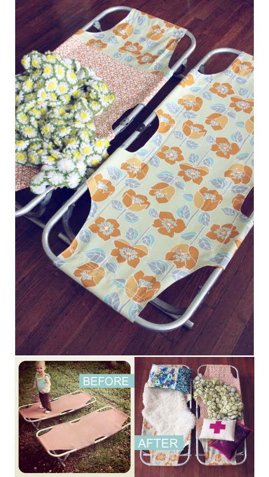 PROJECT RESTYLE: KIDS COTS - A BEAUTIFUL MESS