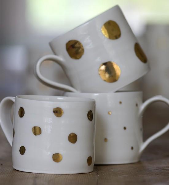 luna lighting-gold lustre-cup