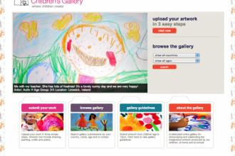 La galerie internationale des oeuvres d'enfant