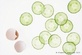 Le masque au concombre / Plumetis magazine