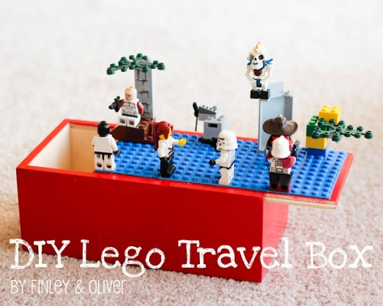 DIY LEGO Travel Box // FINLEY & OLIVER