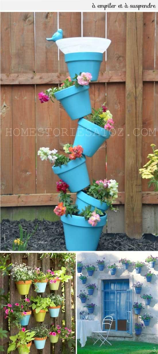 21 Cr 233 Ations Avec Des Pots De Fleurs