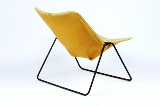 Fauteuil modèle G1 pièce de collection // Artefact design, galerie Alexandre Guillemain