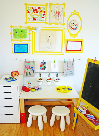 Sharing Our Kids Art Space // CHILDHOOD
