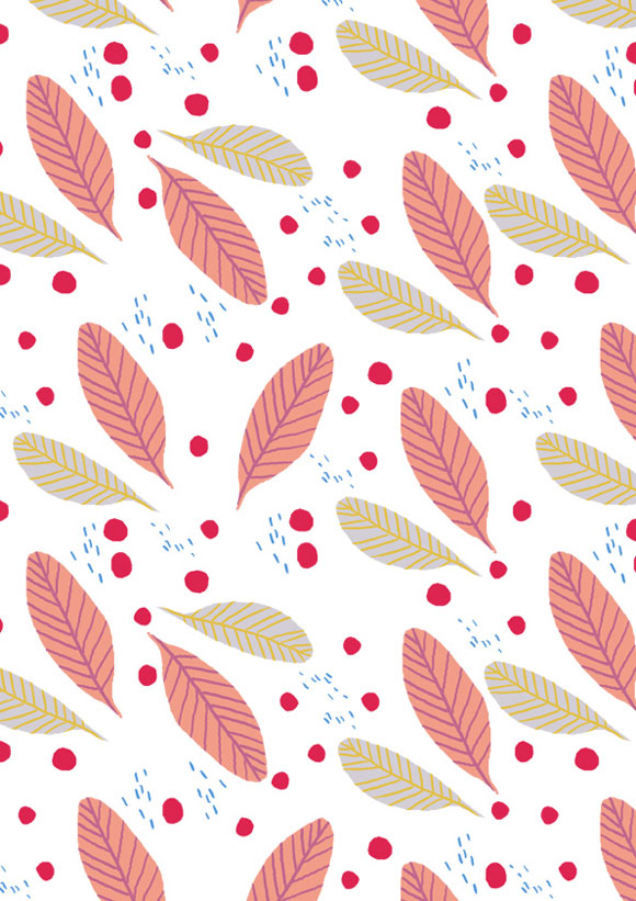 small_leaves_red_dots-littlecube