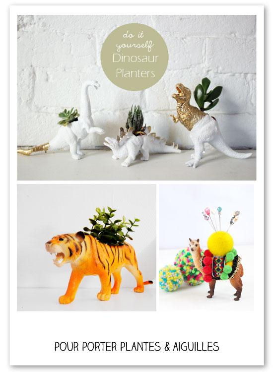40 projets cr atifs avec des animaux en plastique. Black Bedroom Furniture Sets. Home Design Ideas