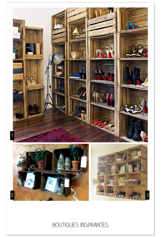Armoire chaussure diy for Rangement chaussures diy
