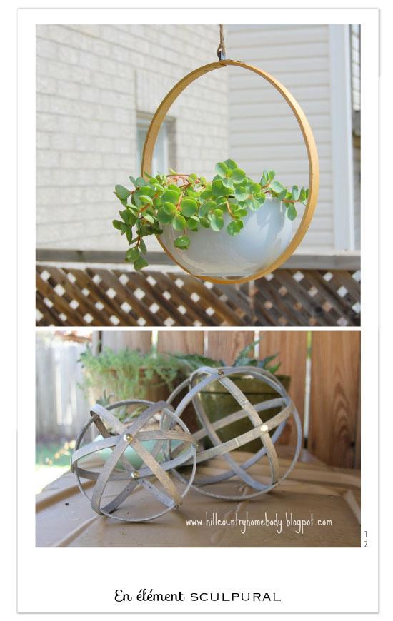 Easy Embroidery Hoop Geometric Designs