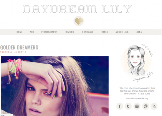 Tabitha Emma pour Daydream Lily