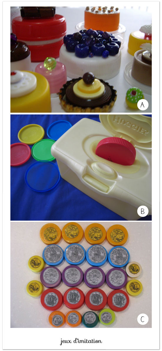 diy-plastic-lids-pretend-play