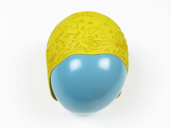 swim cap yellow mushroom -- waanabi