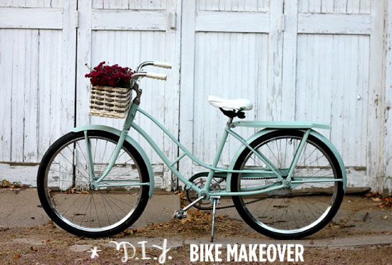 DIY-bike makeover abeautifulmess