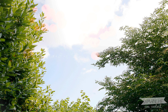 ciel d'été