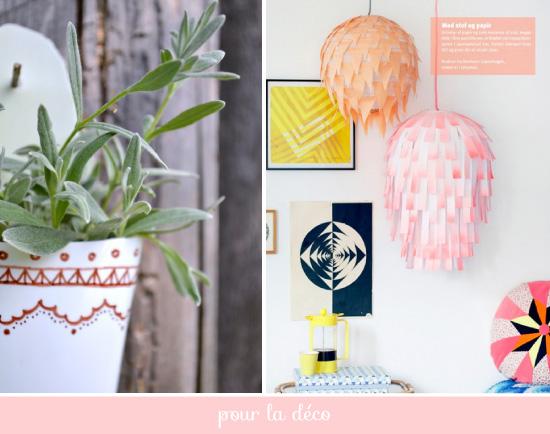 DIY Plumetis bazaar / pour la déco