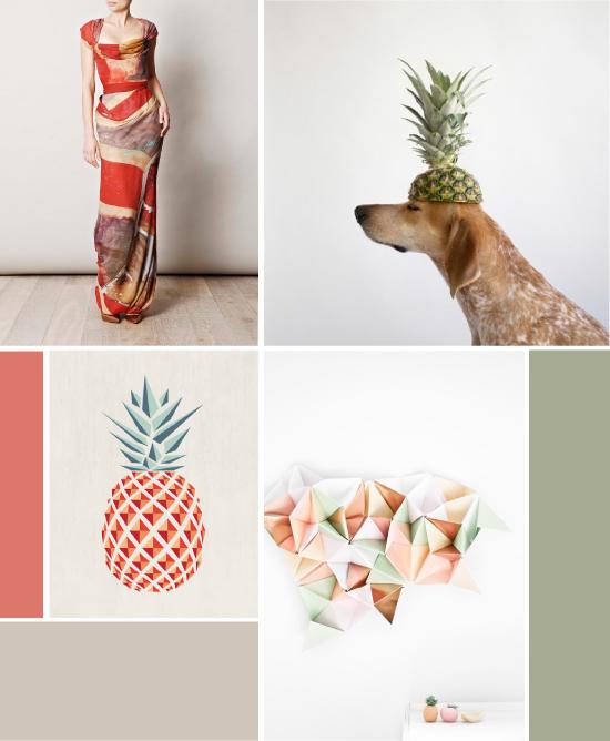 Inspiration : ananas