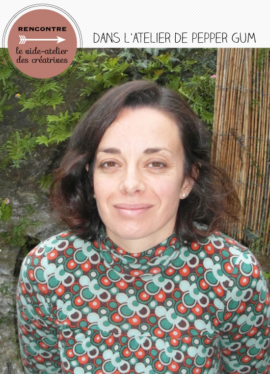 Portrait de Mélina, créatrice de Pepper Gum