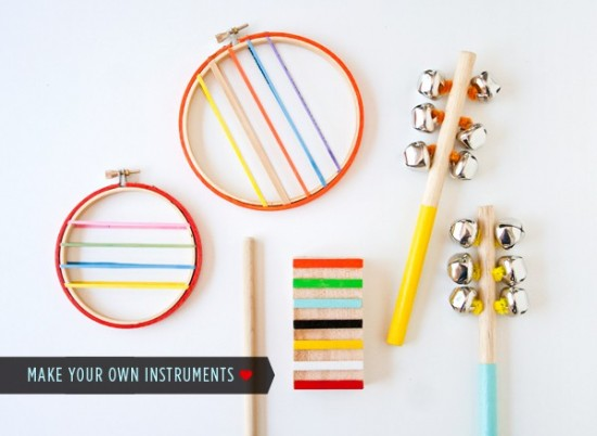 DIY wood instruments, hellobee