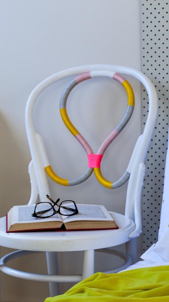 Threaded chair Feliz