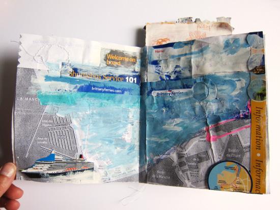 Carnet de voyage le havre-portsmouth